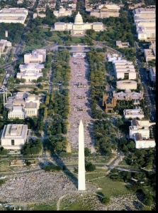 """Promise Keepers """"Stand In The Gap"""" Rally, 10/4/1997"""