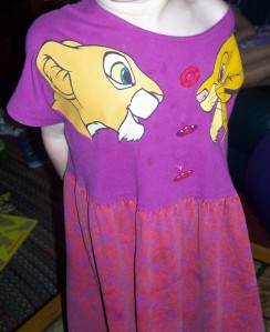 The Lion King dress