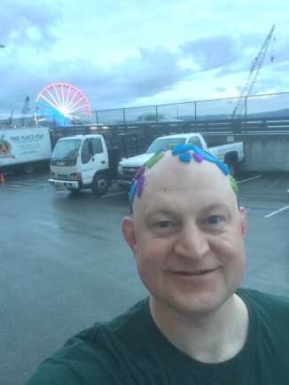 Selfie with Great Wheel in background