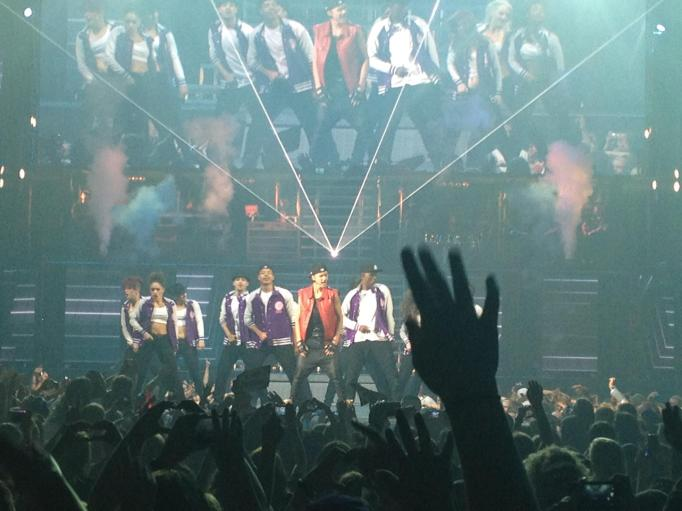 Bieber concert Tacoma 2012